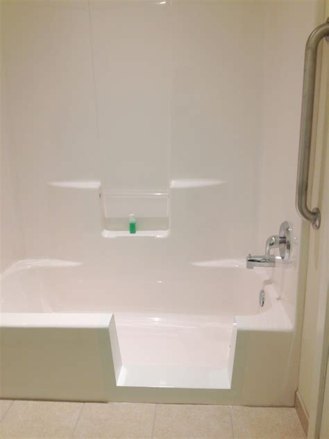 bathtub converted to shower tub cut out conversion for bergen county nj senior