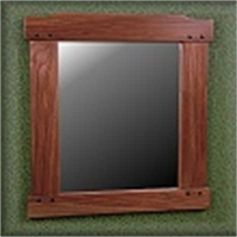 mission style bathroom mirror wall mirrors mission craftsman arts and crafts style