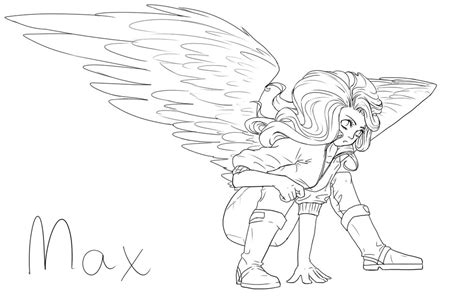 Maximum Ride Coloring Pages maximum ride free coloring pages