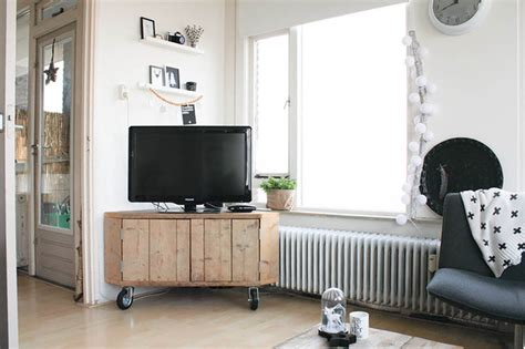 Eclectic Living Room On A Budget Scandinavian Style On A Budget In A Small City Apartment