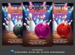 free bowling flyer template 12 bowling flyer templates free psd ai format