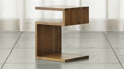 crate and barrel side table entu side table crate and barrel
