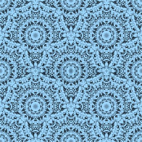 vintage wallpaper blue and white abstract seamless blue and white color geometric vector