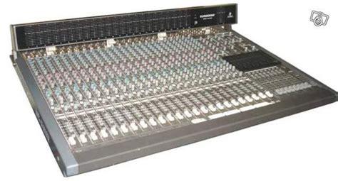 Mixer Eurodesk behringer eurodesk mx8000 image 33611 audiofanzine
