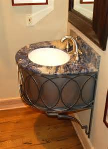 new wrought iron bathroom vanities by ironcraft