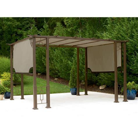 Garden Oasis 9 Ft X 12 Ft Deluxe Pergola Outdoor Garden Oasis Pergola With Canopy