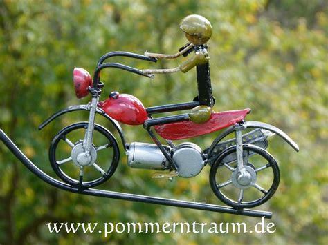 Motorradfahren Bei Wind by Windspiel Gartenpendel Motorrad Pommerntraum