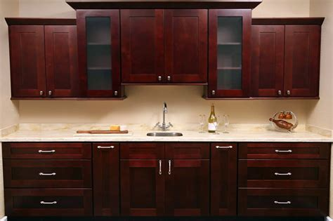 How To Glaze White Kitchen Cabinets by Mocha Shaker Kitchen Cabinet Set Orts Rta Cabinet Hub