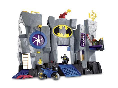 batman toy house fisher price imaginext super friends batcave playset batman robin batcycle new ebay