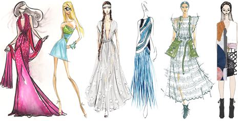 fashion illustration inspiration designers their 2016 fashion week inspiration