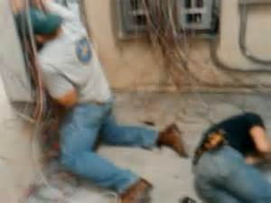 electrocution two electricians get it bad