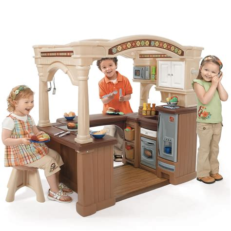 Childrens Kitchen Playsets by Lifestyle Grand Walk In Kitchen Play Kitchens Step2