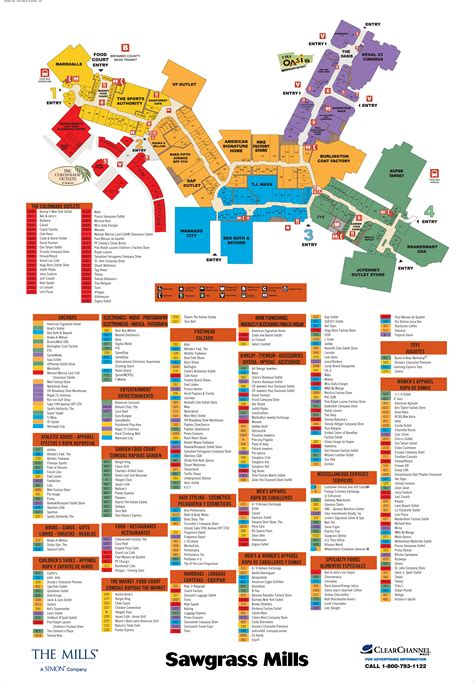 sawgrass map map of sawgrass mills stores pictures to pin on