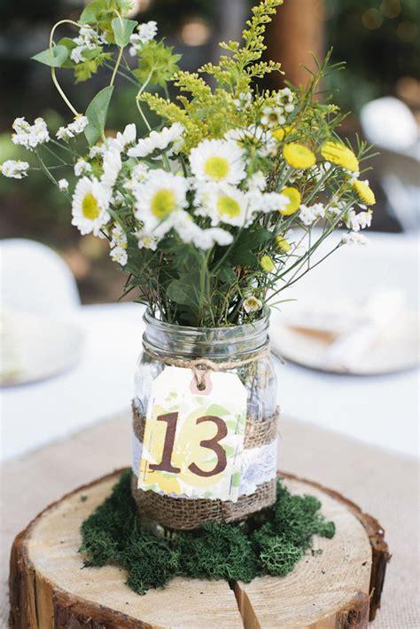 wedding jam jars table numbers the wedding of my dreams
