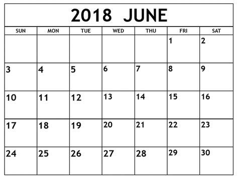 printable june 2018 calendar june 2018 calendar printable 187 word excel pdf format