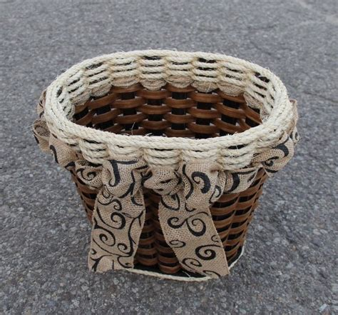 shabby chic wastebasket 38 best images about bathroom organization on