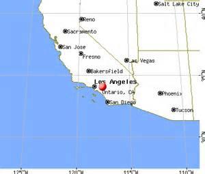 ontario california map ontario california ca 91761 91764 profile population