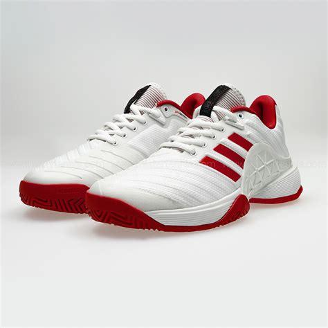adidas barricade 2018 s tennis shoes white