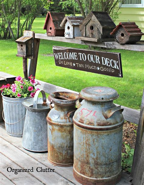 Garden Accessories Vintage 34 Best Vintage Garden Decor Ideas And Designs For 2017