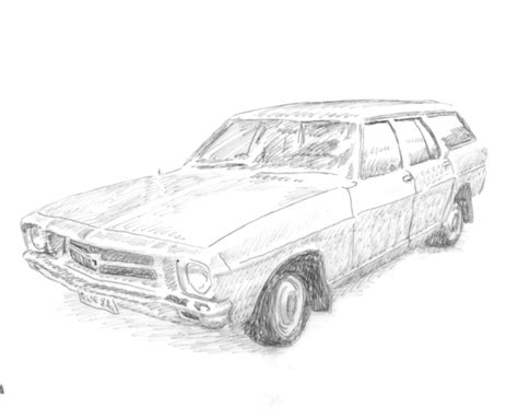 coloring pictures of holden cars holden ute drawings sketch coloring page