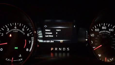 mustang digital speedometer 2015 2017 mustang easter egg digital speedometer and