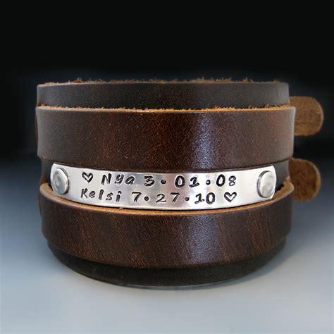 S Handmade Leather Bracelets - mens thick leather bracelets best bracelet 2018