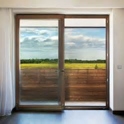 Minimalist modern sliding glass door designs