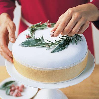christmas cake  mixed fruit icing  decoration