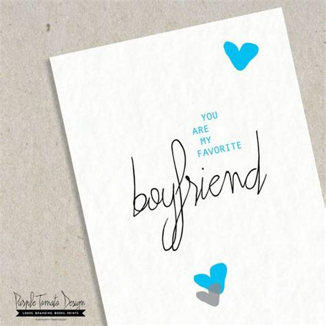 Printable Birthday Cards Boyfriend | favorite boyfriend card printable valentine boyfriend