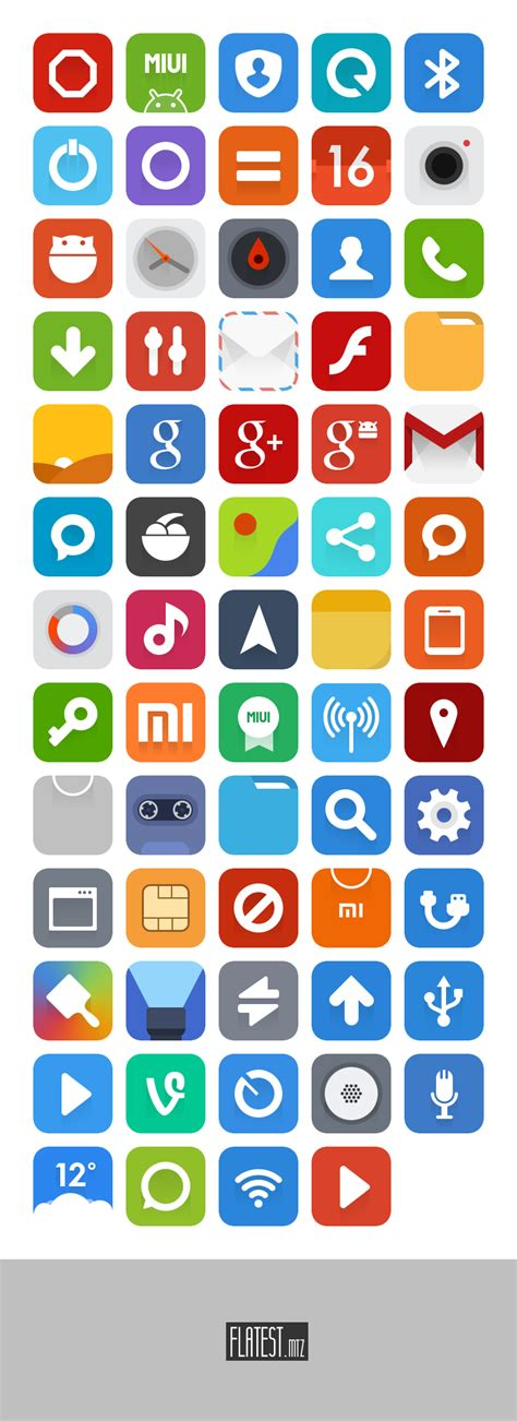 miui themes pack flatest icons miui theme psd by ffra on deviantart