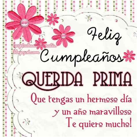 imagenes de cumpleaños para in primo the gallery for gt feliz cumpleanos prima