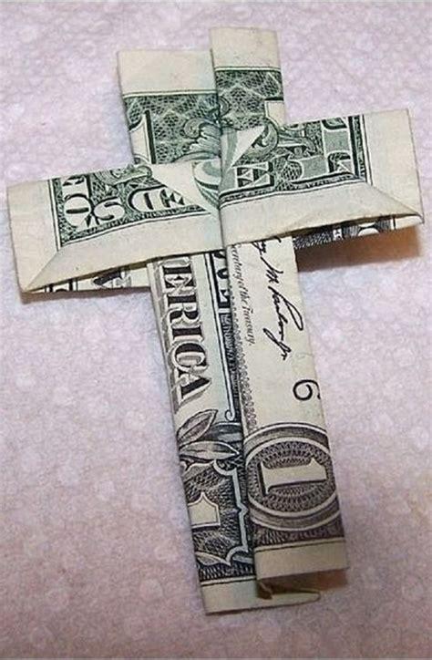 How To Fold Paper Money - 98 bedste billeder om origami med pengesedler p 229