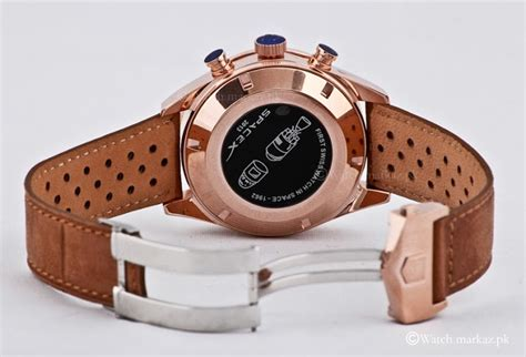 Tagheuer Space X Leather Rosegold tag heuer 1887 spacex ltd edition watchmarkaz pk