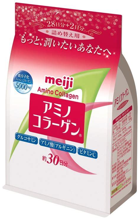 Meiji Collagen Premium Can meiji amino collagen 28 days supply health