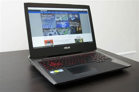 Laptop Asus G752vs asus rog g752vs laptop review geforce gtx 1070 inside photo gallery techspot