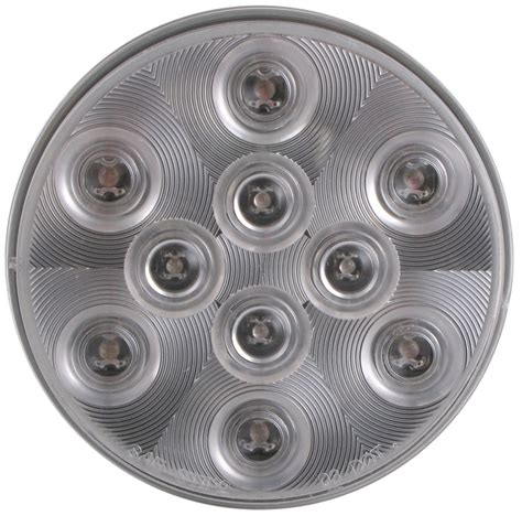 4 inch round led tail lights with sealed 4 quot round led trailer stop turn tail light 3