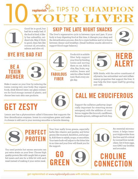 Brain Fog Liver Detox by 10 Tips To Chion Your Liver Replenish Pdx Wellness