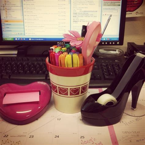Girly Desk Organizers 86 Best Desk Stuff Organization Images On