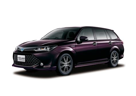 toyota wagon toyota applies a facelift to the jdm spec corolla fielder