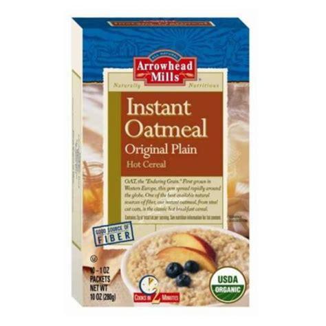 Oat Meal Organik Non Instant u s arrowhead mills organic instant oatmeal original plain organic grain grain dried