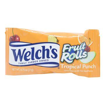 tropical punch fruit rolls  welchs rewards pantry
