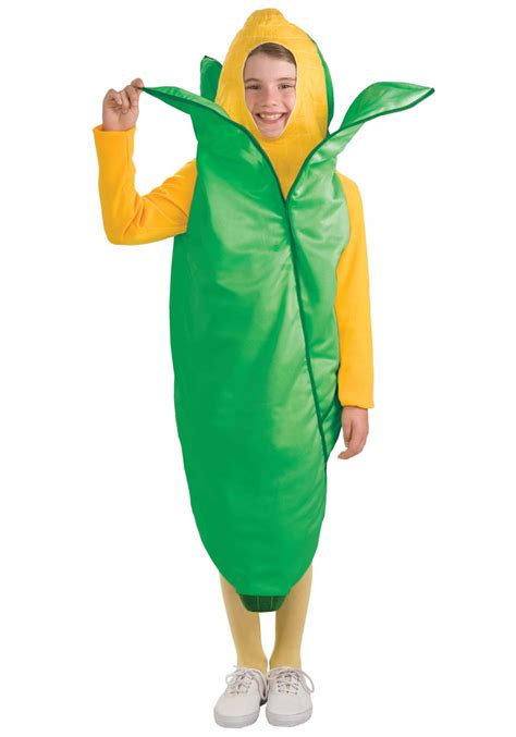 corn costume ear of corn vegetable costume child costumes food costumes