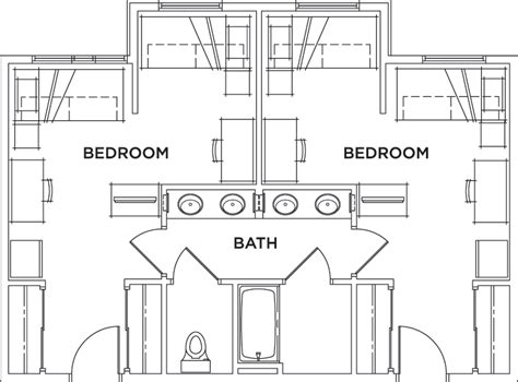 shared bathroom floor plans floor plans casas del rio student apartments in