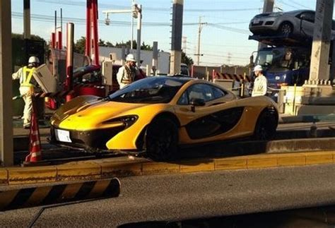 mclaren p1 crash test mclaren p1 incidente
