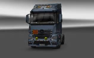 Mercedes Truck Parts And Accessories Mercedes Actros Mp4 V6 0 Truck Truck Simulator 2 Mods