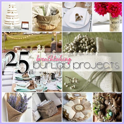 burlap crafts projects 25 burlap diy s the cottage market