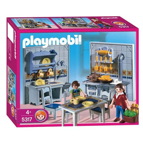 cuisine playmobil playmobil famille cuisine traditionelle achat vente