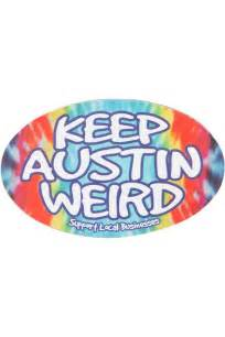 Keep Wierd Keep Tie Dyed Magnet Co Op