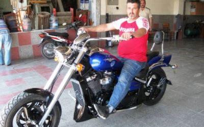 oedemisli motosiklet tasarimcisina bueyuek ilgi
