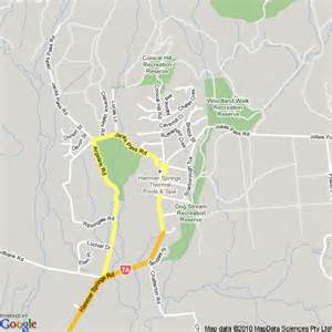map of hanmer springs new zealand hotels accommodation